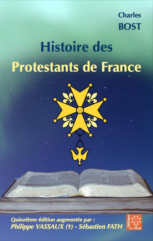 Couverture du livre Histoire des Portestants de France